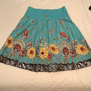 DownEast Turquoise Skirt